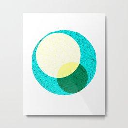Circles For Miles Metal Print