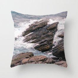 Observatory Rocks Throw Pillow