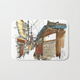 vintige city-seoul Bath Mat