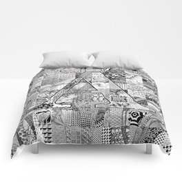 The Letter A Comforters