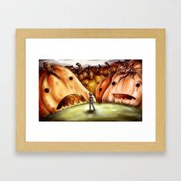 November 1st Pumpkin Patch Framed Art Print