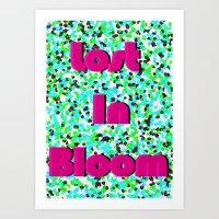 Lost In Bloom Art Print