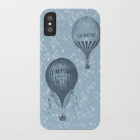 hot air balloons iPhone & iPod Cases featuring Hot Air Balloons by Zen and Chic