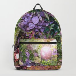 A Florist's Ceiling Garden Backpack