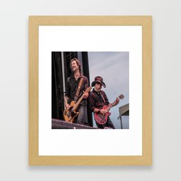 Roger Clyne and the Peacemakers shower curtain Framed Art Print