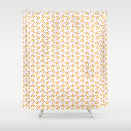 Autumn floral - summer version :) Shower Curtain