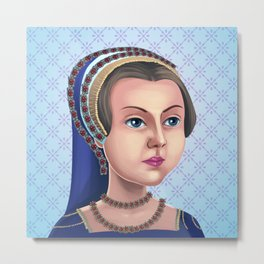 Lady Jane Grey, Queen for a day Metal Print