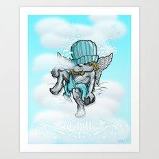 Chill Art Print