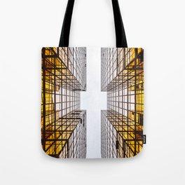Emerging Skyscraper Tote Bag