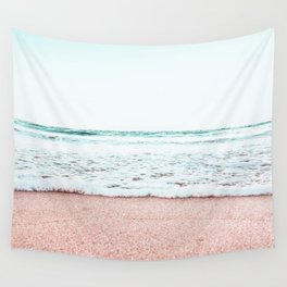 Pastel beach Wall Tapestry