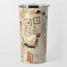 ---garden--cafe--- Travel Mug