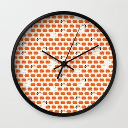 Odd one out guinea pig Wall Clock