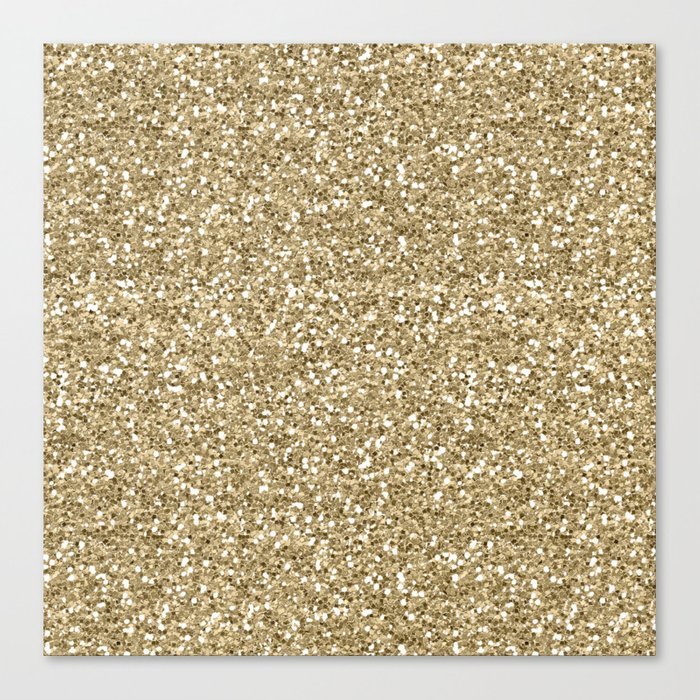 Glitter - Gold 1. Leinwanddruck