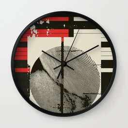 « graphique .1 » Wall Clock