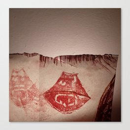Lips #4 Canvas Print