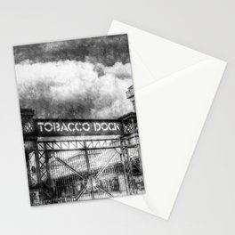 Tobbaco Dock London Vintage Stationery Cards