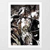 gandalf Art Prints featuring Gandalf by Patrick Scullin