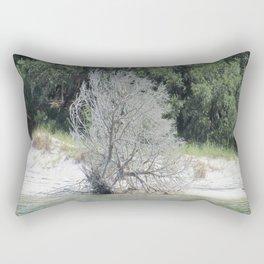 The Skeleton Tree on the Beach Rectangular Pillow