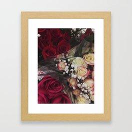Roses Are... Framed Art Print