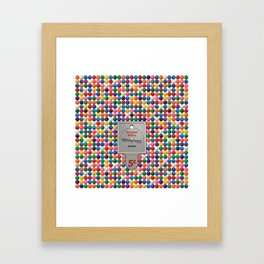 The Gumball Machine Framed Art Print