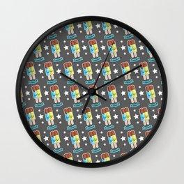 CRACK! Wall Clock