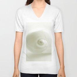 Beautiful White Shell #society #decor #buyart Unisex V-Neck