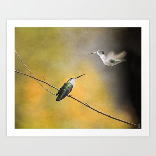 Whisper of Your Wings Art Print