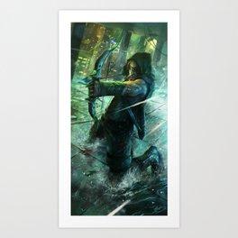 The Last Arrow Art Print