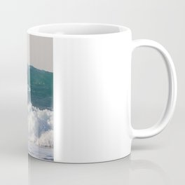Surfers at Porthtowan Coffee Mug