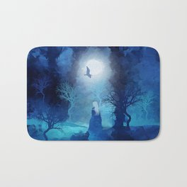The Magician by Viviana Gonzales and Paul Kimble Bath Mat