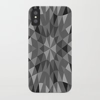 gray pattern iPhone & iPod Cases featuring Gray Pattern by 2sweet4words Designs
