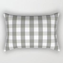 Lady Gray Rectangular Pillow
