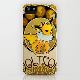 Jolteon iPhone Case