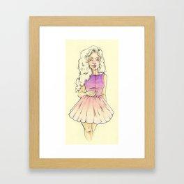 Dry Air Framed Art Print