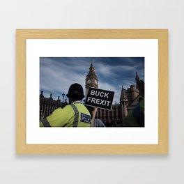 brexit Framed Art Print