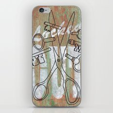 Locked Out? get some more keys cut yeah! iPhone & iPod Skin
