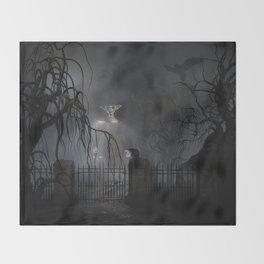 Darkness Comes Miss Piggy Returns Throw Blanket
