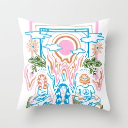 The Unbearable Hotness of Being Throw Pillow