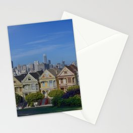 Painted Ladies San Francisco CA Stationery Cards