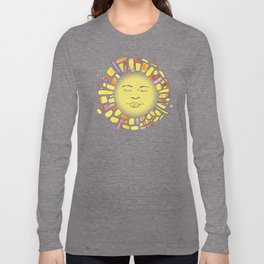 Retro Sun Long Sleeve T-shirt
