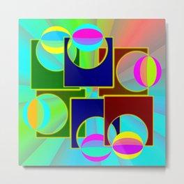 Supercontrolling Metal Print