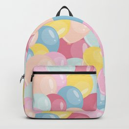 Happy birthday party balloons Backpack