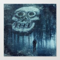 depression Canvas Prints featuring depression by Dirk Wuestenhagen Imagery