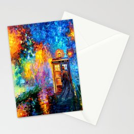 The 10th Doctor Starry The Night Stationery Cards