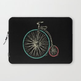 Cycling Forever | Penny Farthing High Wheel Laptop Sleeve
