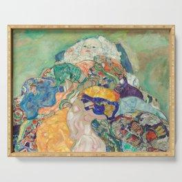 Gustav Klimt - Baby (Cradle) Serving Tray