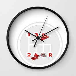 Car Engine Travel  Auto Vehicle  Motor Drive Gift  Wall Clock