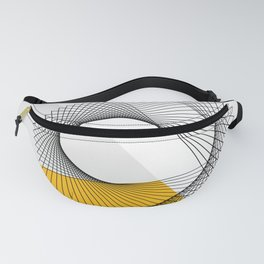 Abstract Minimal Line Fanny Pack