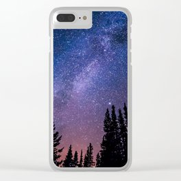 Wide Awake Clear iPhone Case