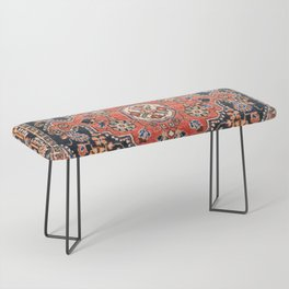 Djosan Poshti West Persian Rug Print Bench